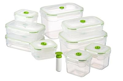 rectangular vacuum seal food storage