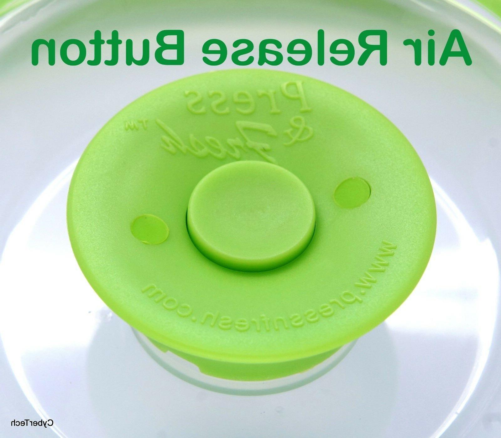 Stackable Sealer Plate Lid Topper