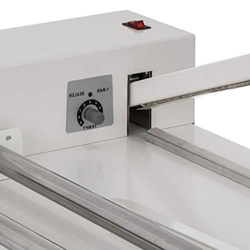 Sturdy & Durable I-Bar Shrink Wrap Machine Heat Sealer with Gun Food Soap Instant Seal