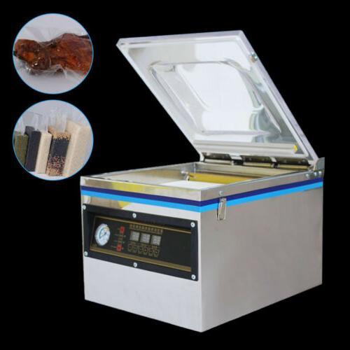 Desktop Digital Vacuum Sealer Commercial Food Chamber Packag