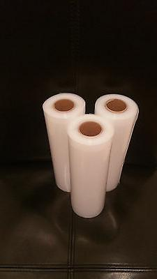 Three 8X20 Rolls Commercial Grade Food Freshing Vacuum Seale