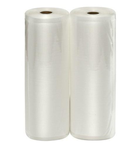 two rolls vacuum sealer bags
