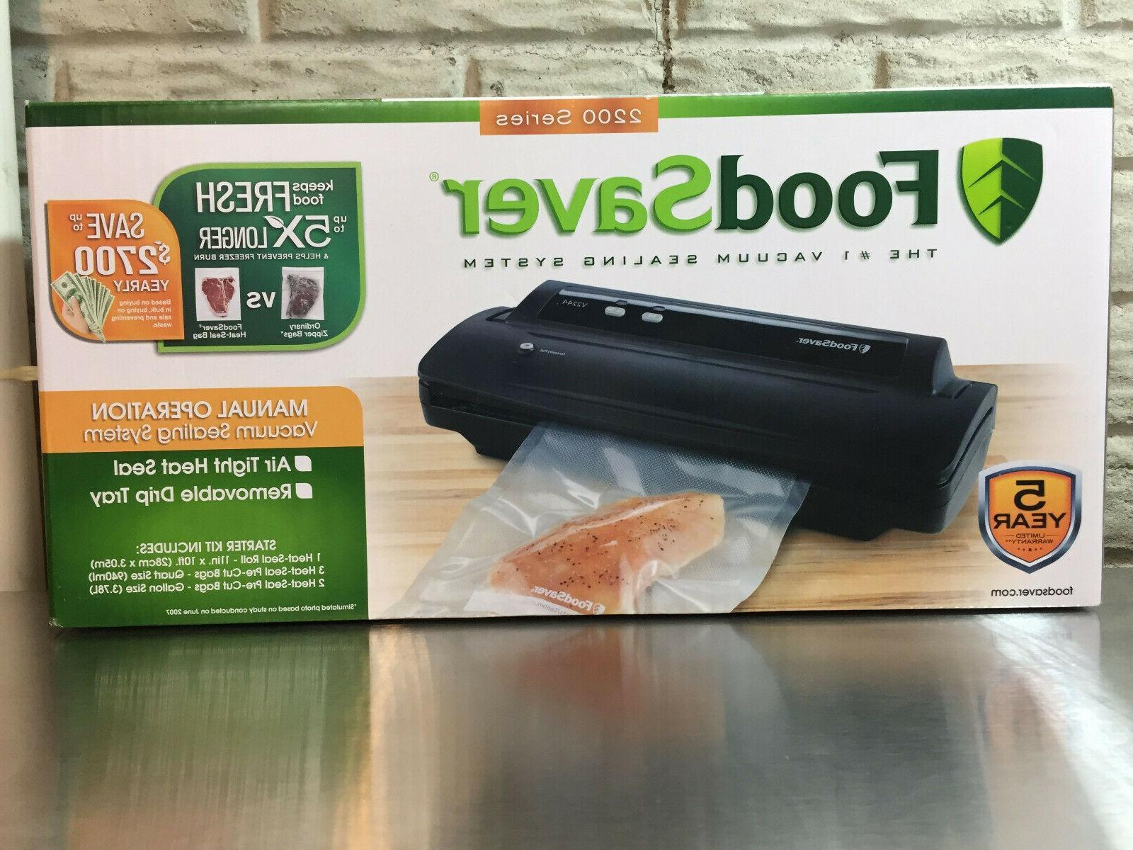 v2244 vacuum sealer machine for food preservation
