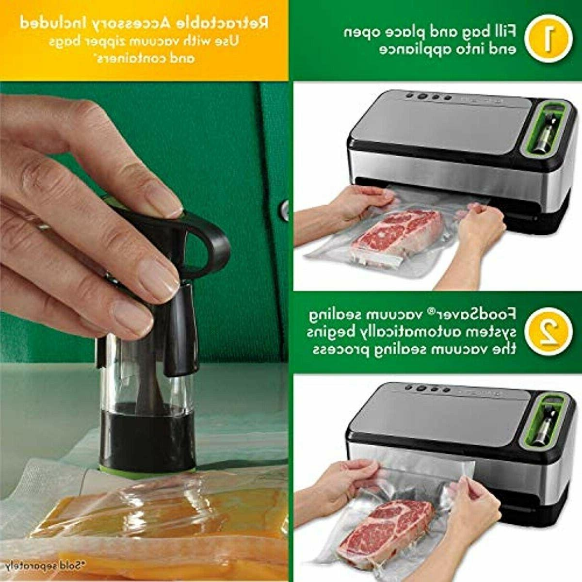 FoodSaver V4840 Sealer Machine Bag Detection St