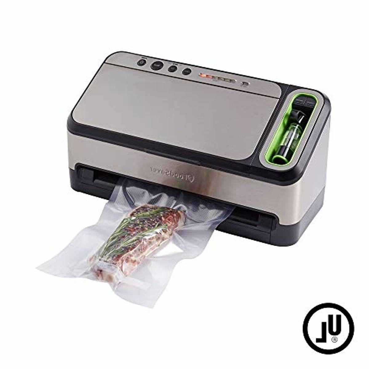 FoodSaver Sealer Machine Automatic Bag Detection and
