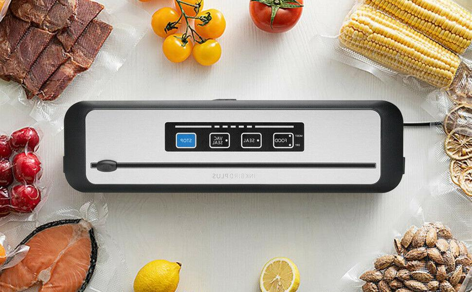 Inkbird Vacuum Cutter Sealer Freezer Food Preservation Stain