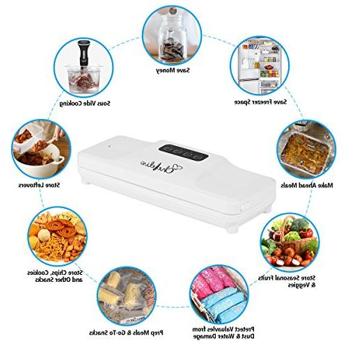 Chefelix Vacuum Sealer Bags Savers and Vide,