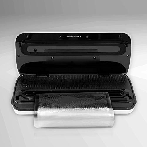 Vacuum By NutriChef | Vacuum Sealing For Preservation Starter | | Lab Tested & |