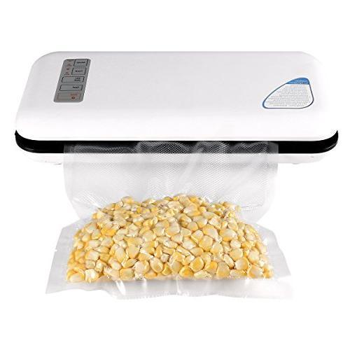 Vacuum Sealer Sealer Food Preservation/Starter Kit Lights,Compact Design Bags