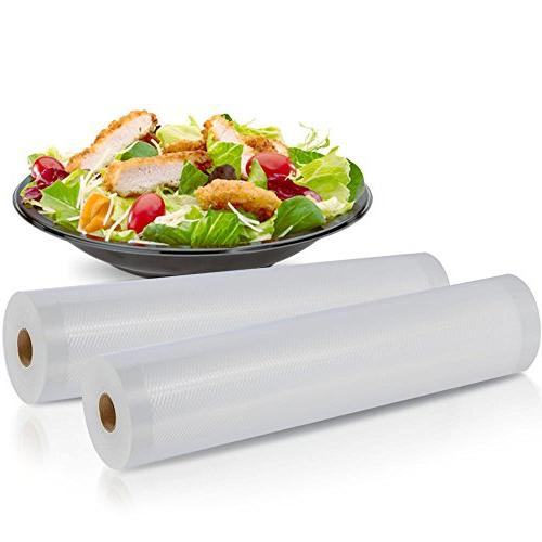2 Pack Grade Rolls, Create Your Own Size Foodsaver,
