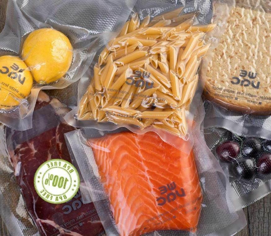 Vacuum Sealer Bags & 11x50 pack Food Seal Wevac