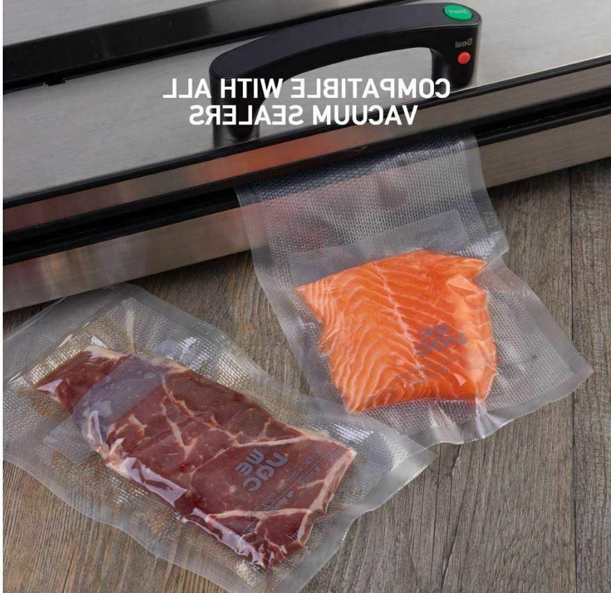 Vacuum Sealer & 11x50 Rolls pack for Seal Wevac