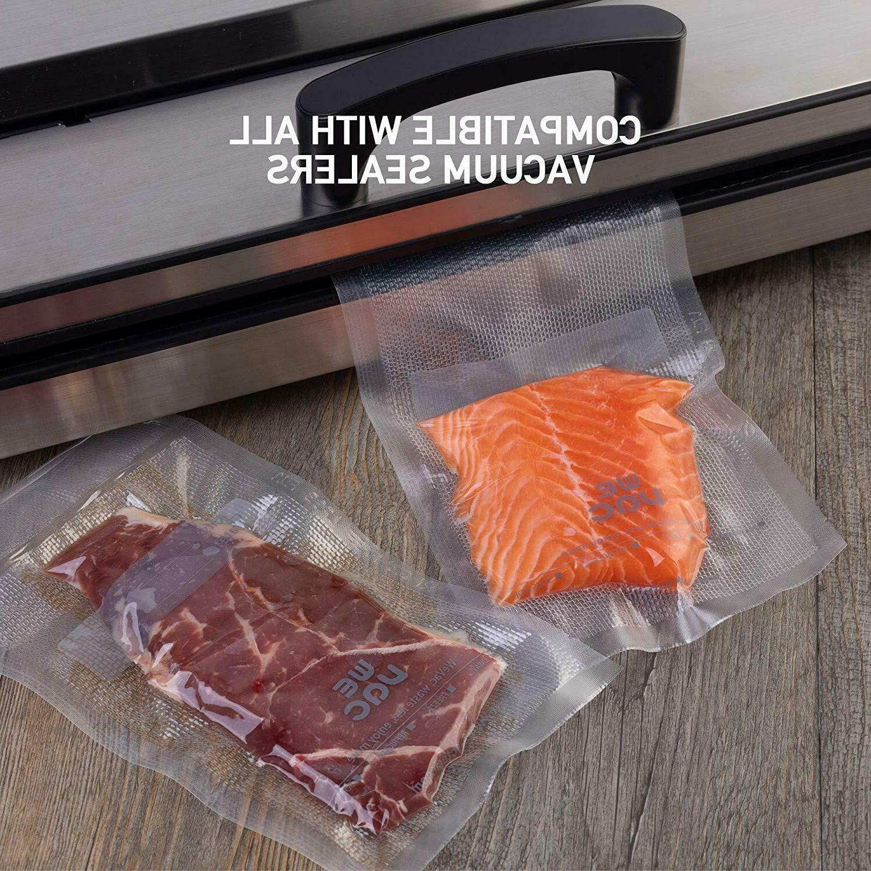 "Wevac Vacuum Sealer Bags BPA 8"" x 50' 2-Pack Food"