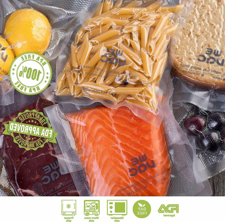 Wevac Sealer BPA Free 50' Rolls 2-Pack Food Saver A101201