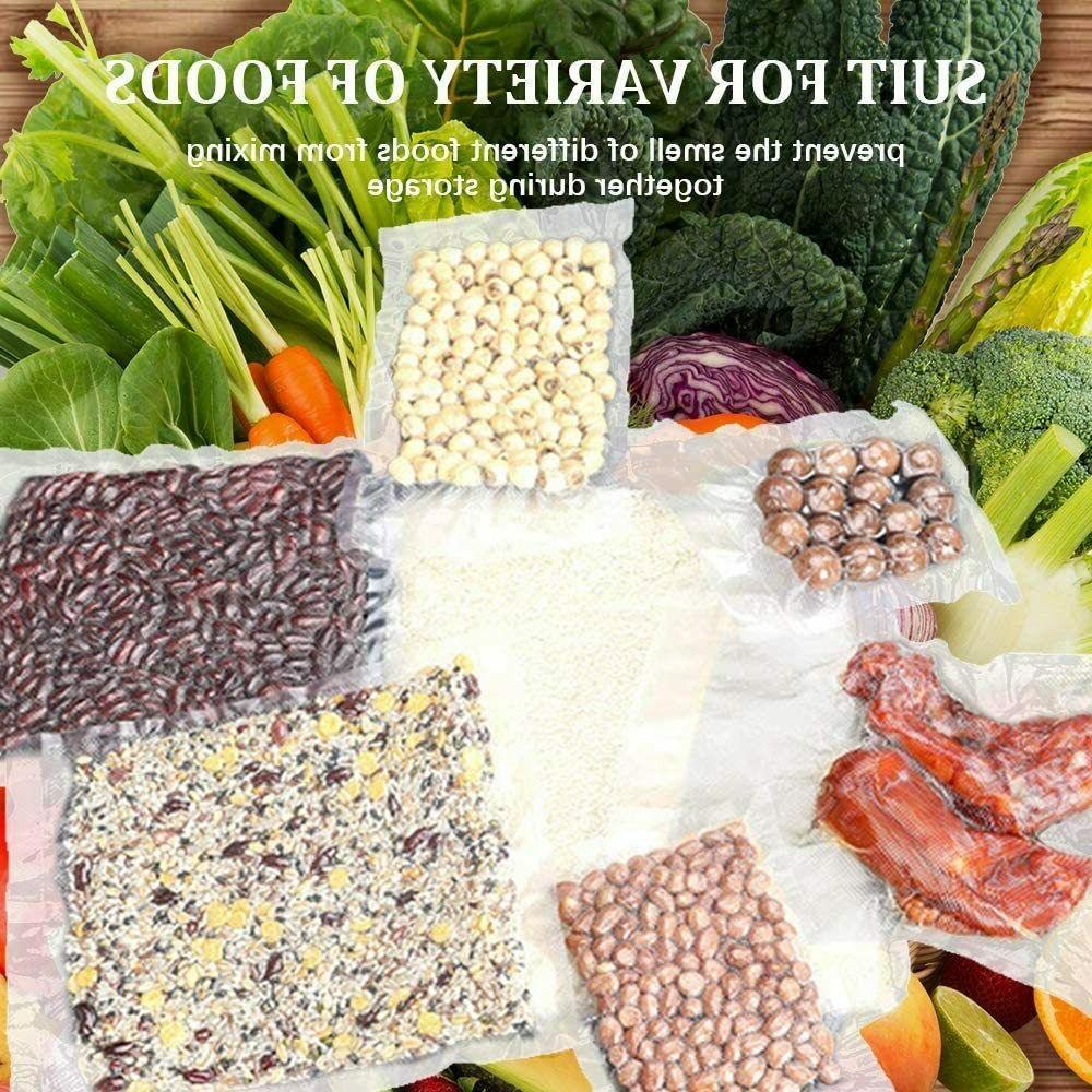 Vacuum Free, Food Saver Storage Bags 8 Inch 100pcs