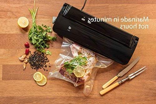 Nutri-Lock Vacuum Sealer 100 Gallon Inch. Sealer FoodSaver, Sous