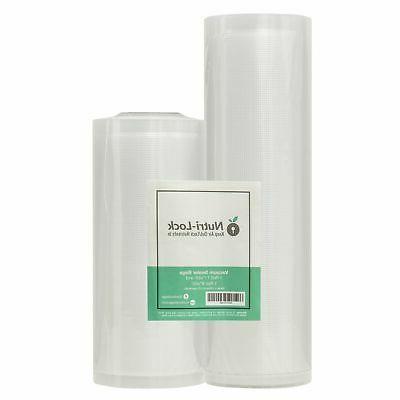 vacuum sealer bags roll 2 pack 11