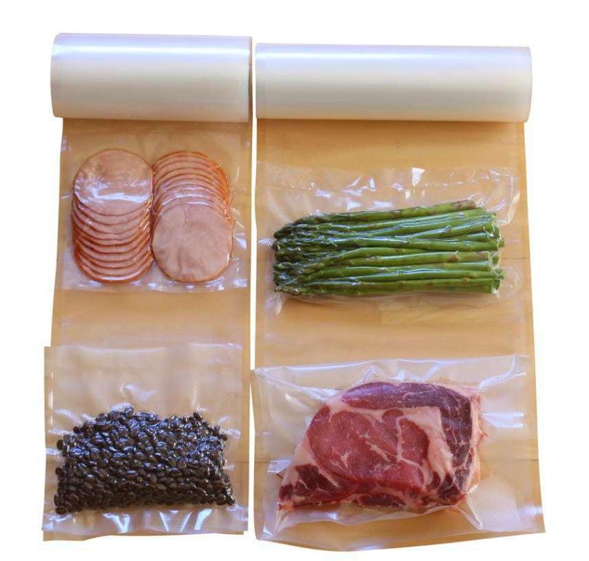 2 Pack 11x50 8x50 Vacuum Rolls Food BPA Free
