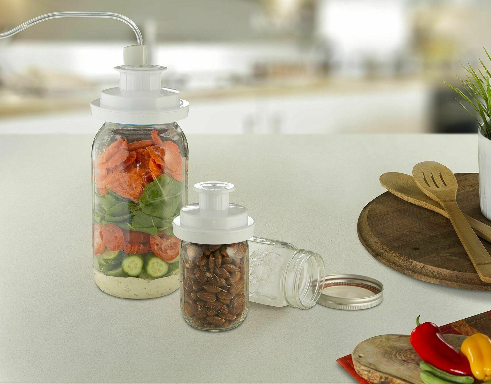 FoodSaver FCARWJAH-000 Wide-Mouth Jar Regular