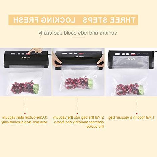Vacuum Sealer/Food Sealer Vacuum Air for Food Vide,Clothes and Mason | | Indicator Lights