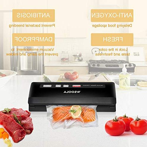 Vacuum Sealer Machine,Automatic Vacuum Sealing System for Food Preservation, Sous Vide,Clothes Jar | | 4 Food Modes | | 10