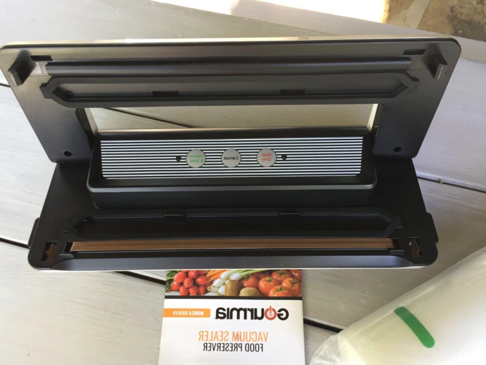Gourmia Vacuum Sealer Food Preserver With
