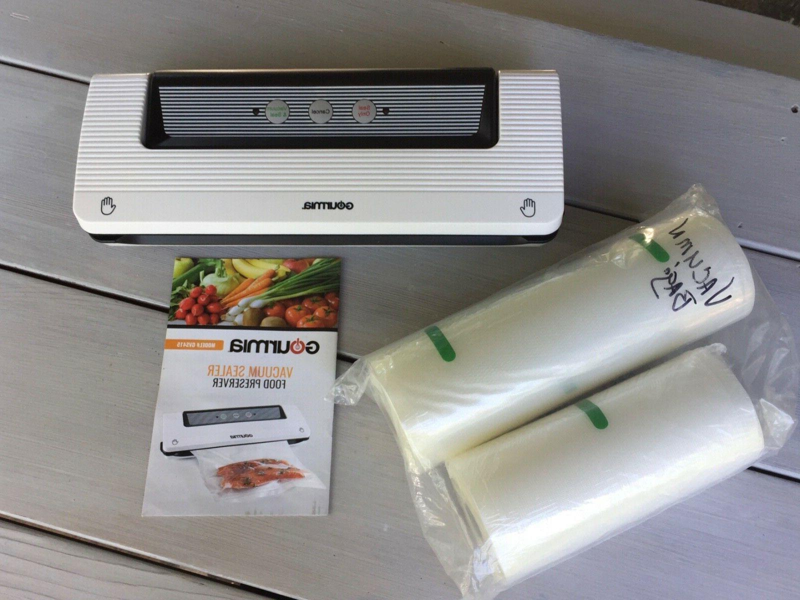 vacuum sealer food preserver new with bags
