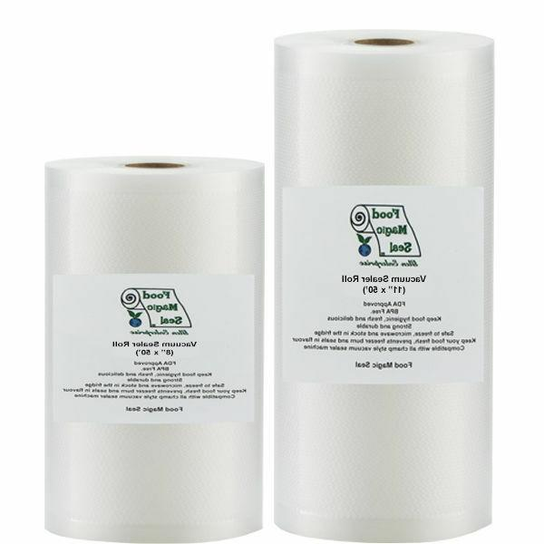 vacuum sealer food storage bags 2 rolls