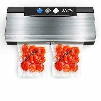 Vacuum Sealer Machine, 80Kpa Automatic Food Sealer with Cutt
