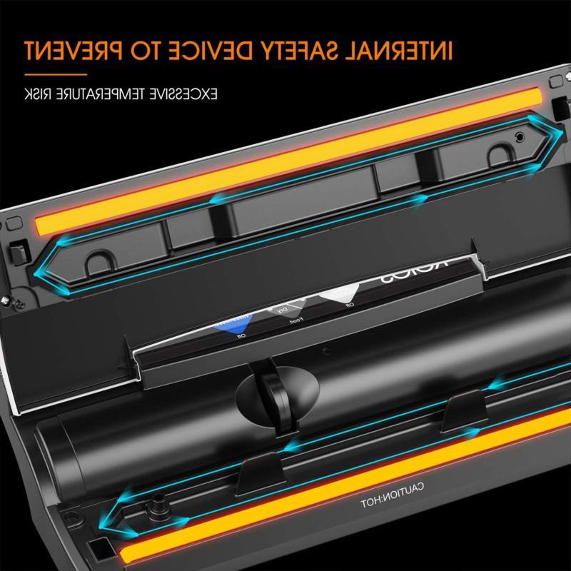 Vacuum Sealer Machine 80Kpa Automatic Cutter