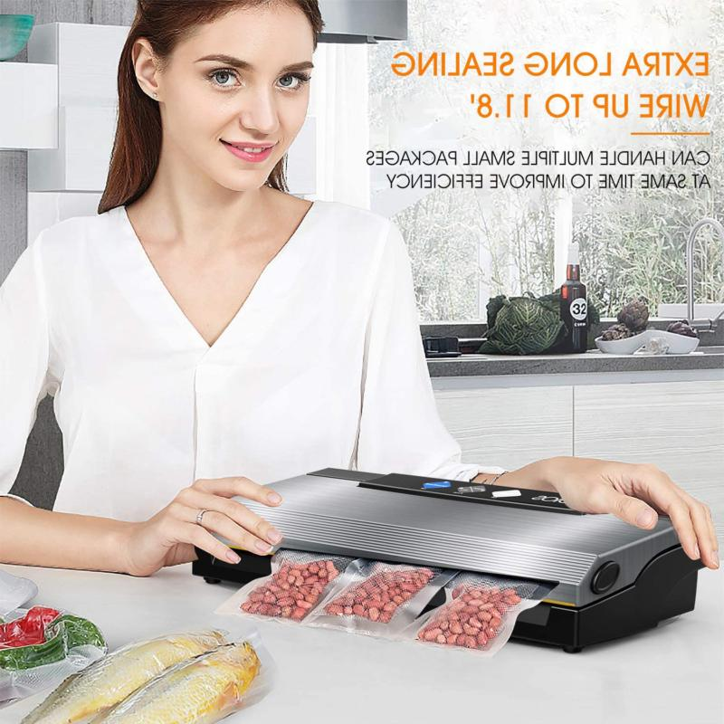 Vacuum Machine Automatic Food With Cutter For Food