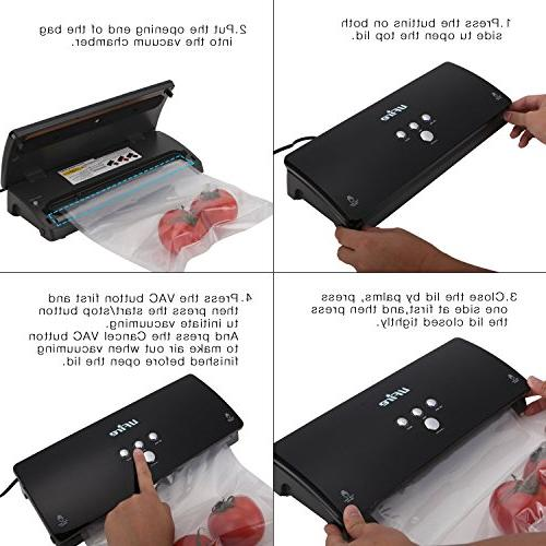 Vacuum Sealer Machine, Automatic Packing for Dry & with