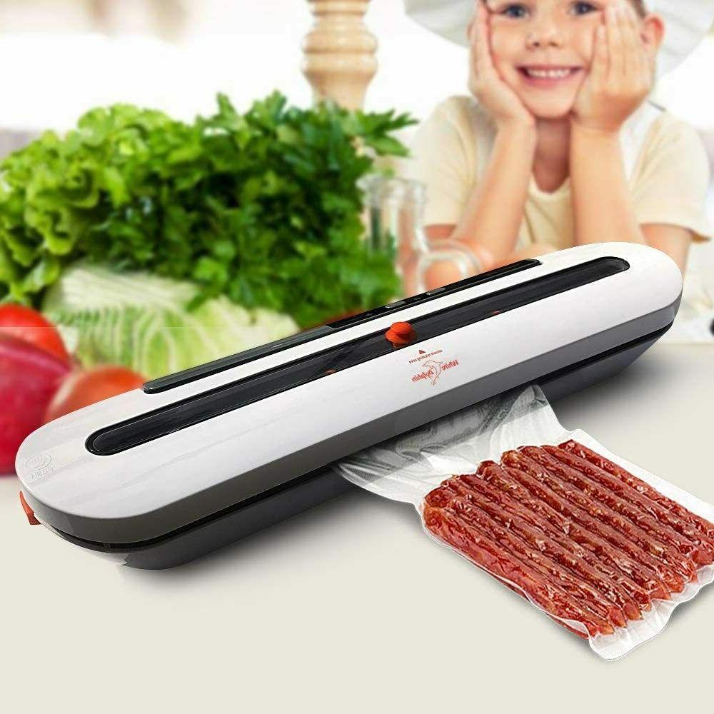 Vacuum Sealer Air Food Storage with Heat