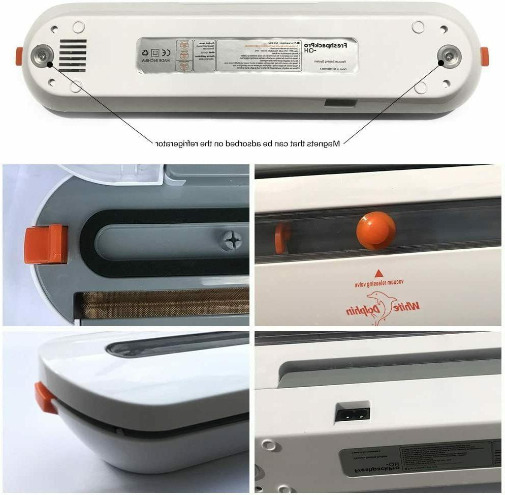 Vacuum Machine Air Sealing Food with Heat