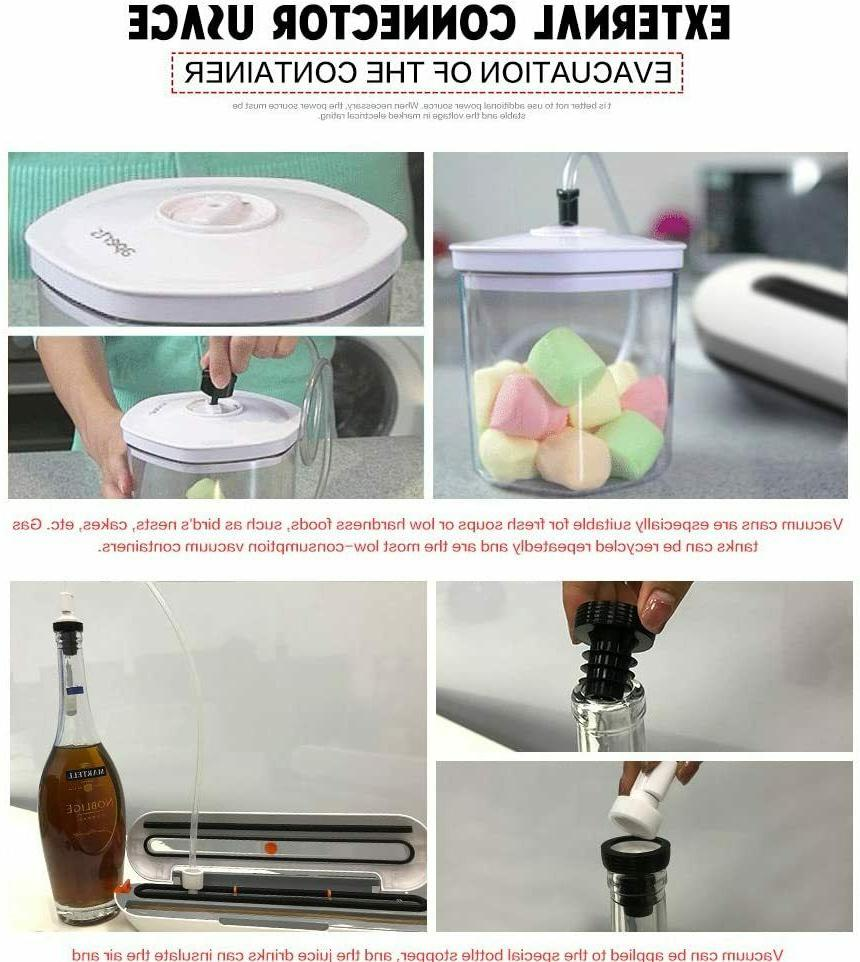 Vacuum Machine Food Storage with Heat
