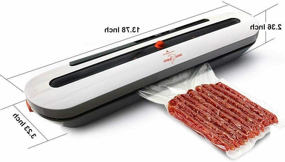 Vacuum Sealer Machine Air Sealing Food Heat