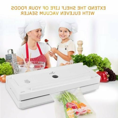 Vacuum Sealer Sealing System w/ Food