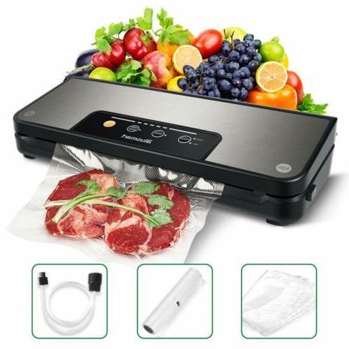 Automatic Vacuum Sealer Machine Food Storag Home Sealing Sys