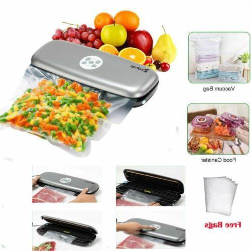 vacuum sealer machine food preservation storage automatic