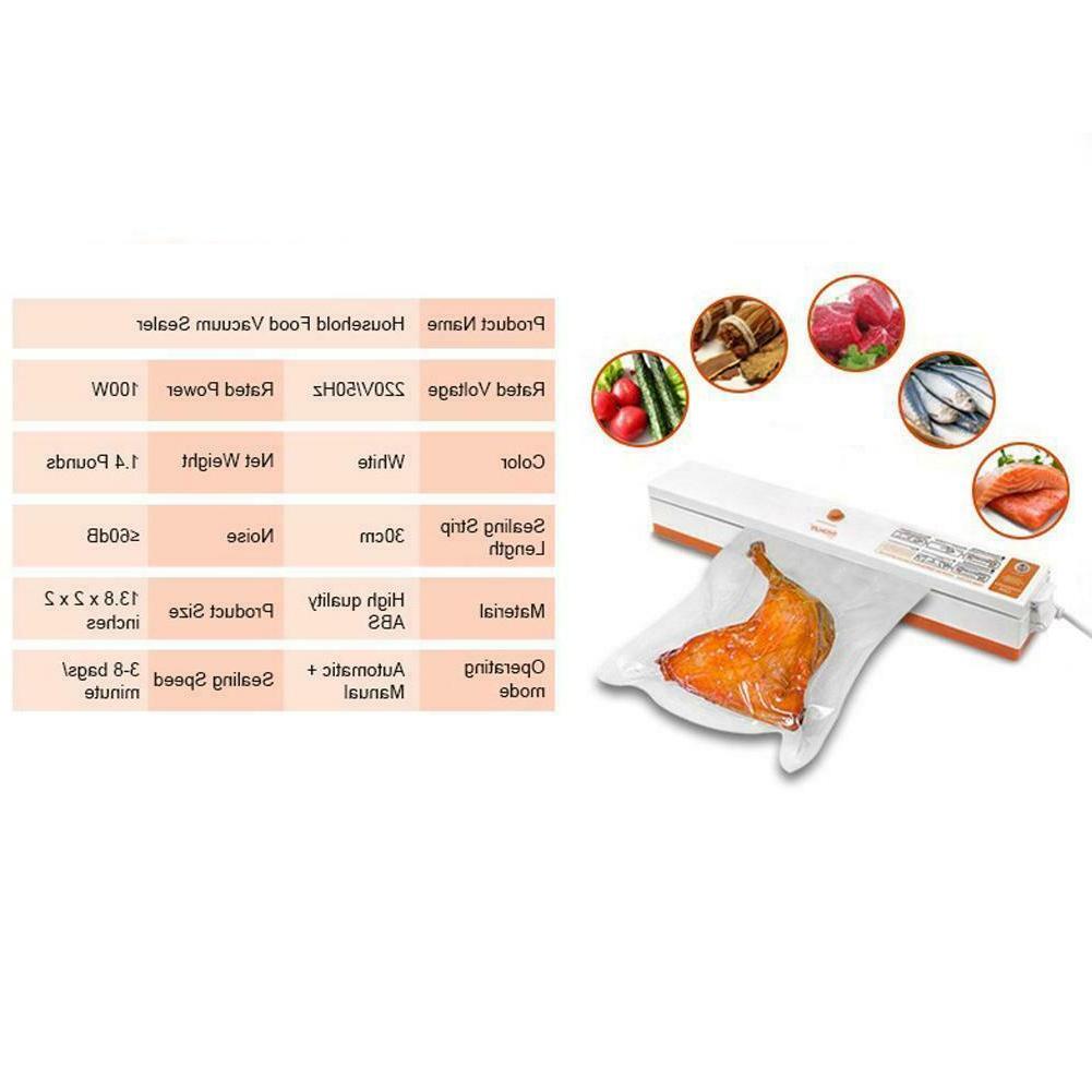 Vacuum Sealer Saver Packing Foodsaver Sealing