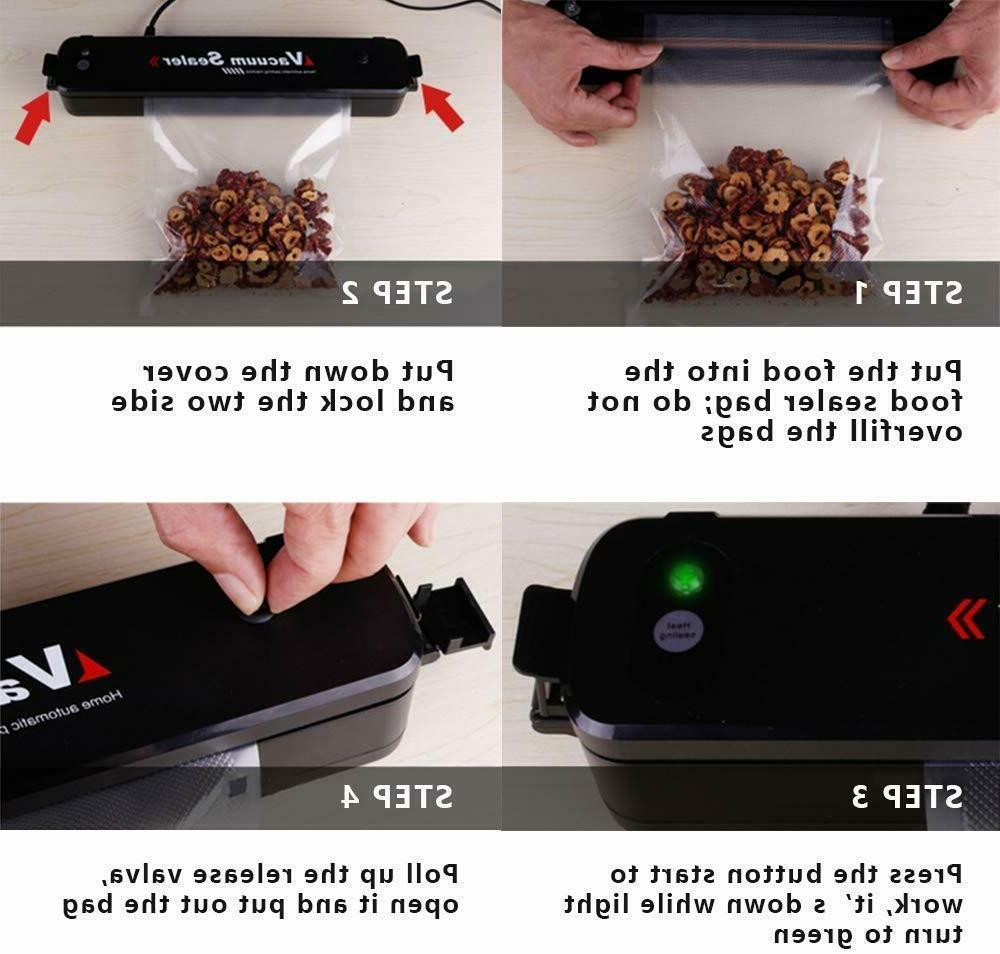 Vacuum Sealer Food Saver Meal Foodsaver Sealing Bag