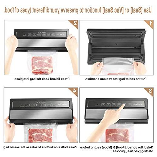 Automatic Food Savers w/Starter & Compact