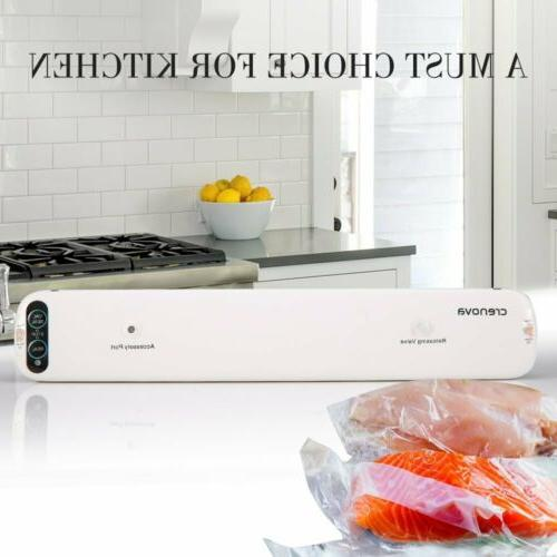Crenova Vacuum Sealer Meat Vegetable Save 10 Home