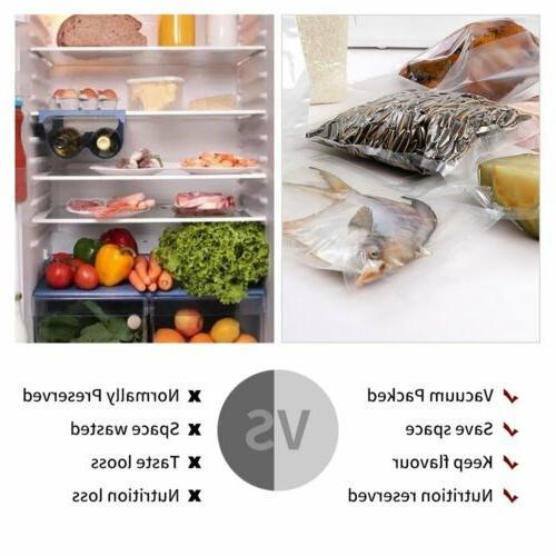 Crenova Vacuum Sealer pcs Vacuum Bags Kitchen