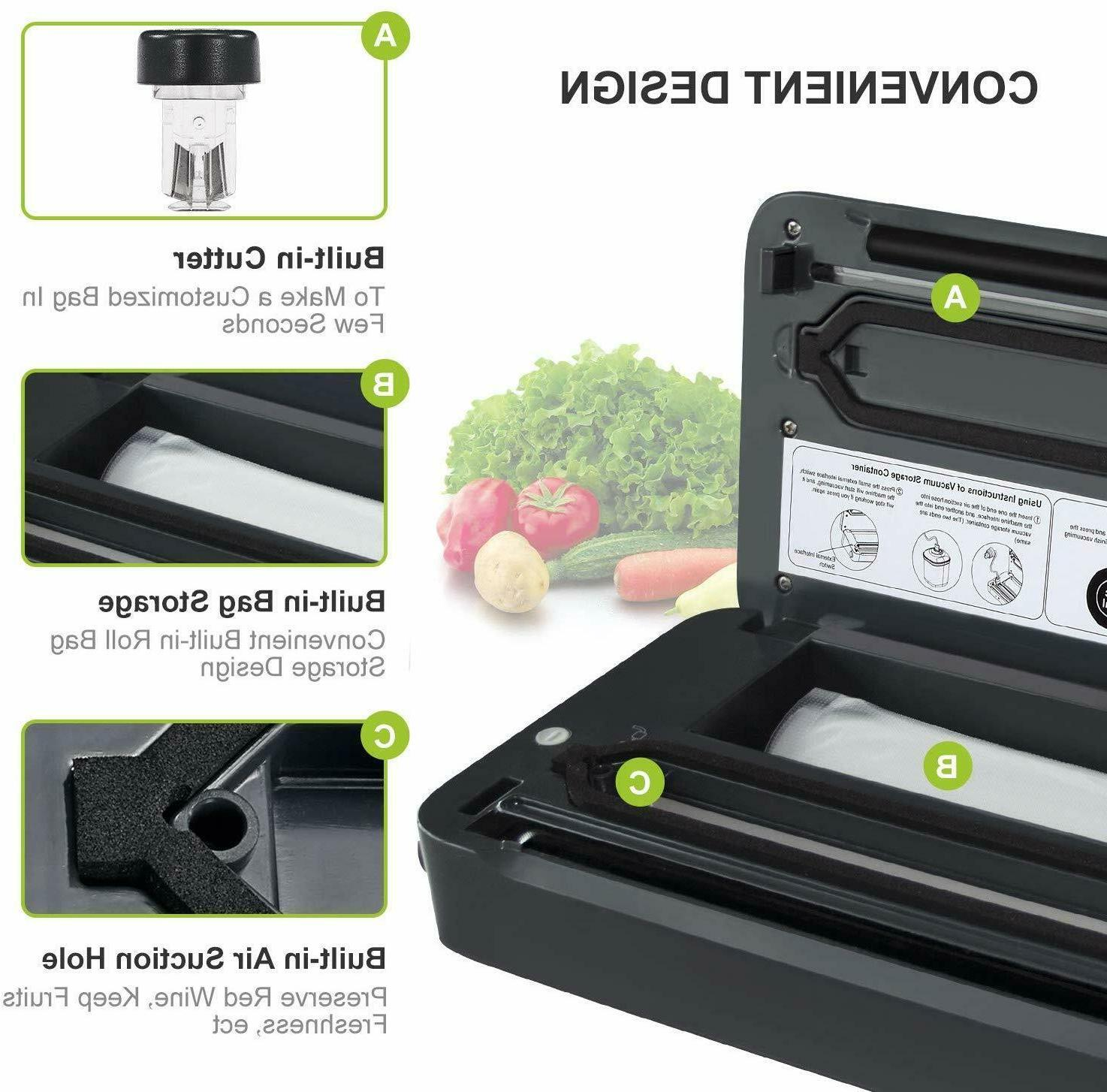 Vacuum Machine A Food Saver Sealing System Easy to Use