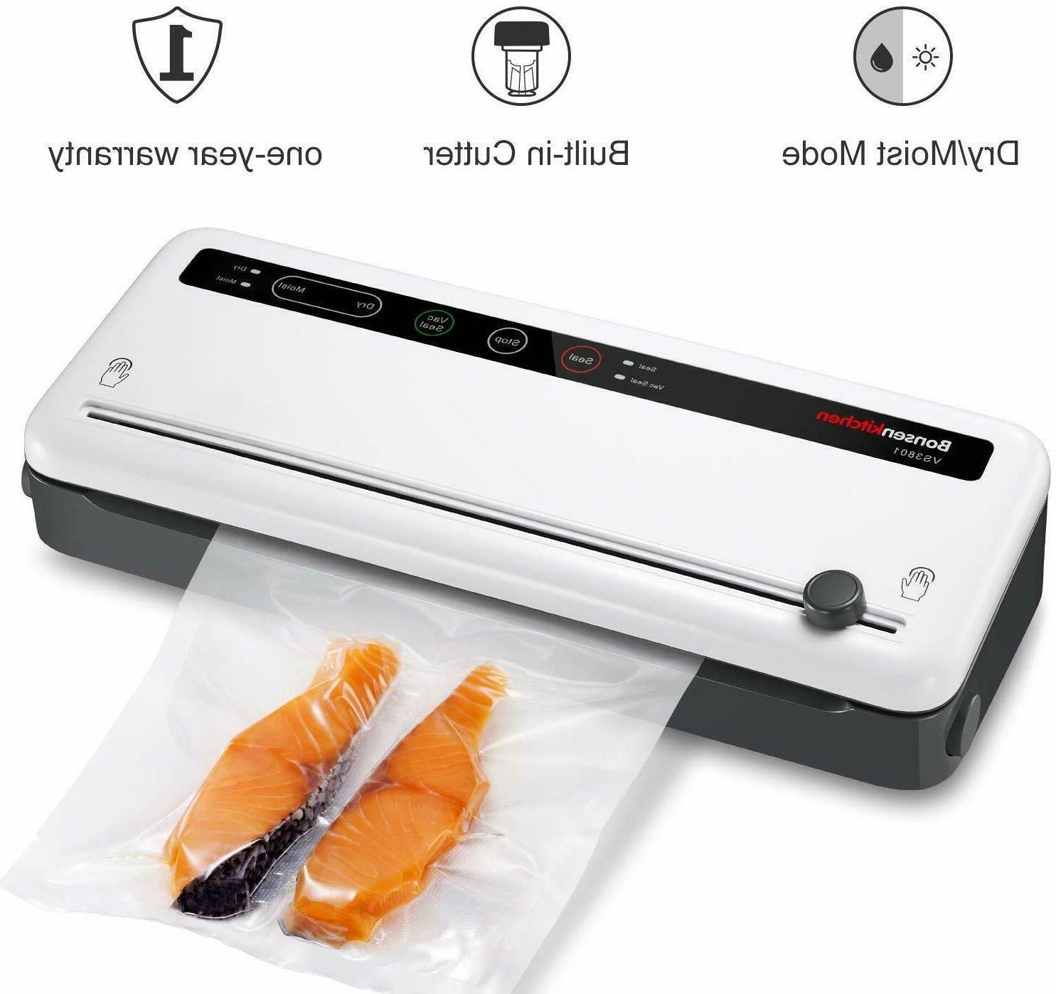 vacuum sealer machine seal a meal food