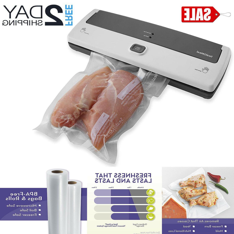 vacuum sealer machine seal a meal foodsaver