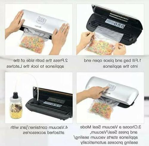 DELITECH Vacuum Sealer with Dry Mode Bags