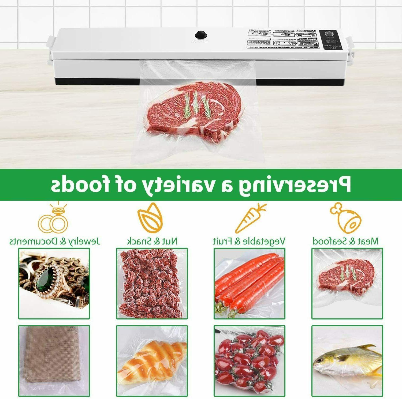 Vacuum One-button Food Sealer Random Color e