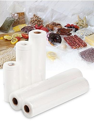Crenova Food Vacuum Sealer Rolls